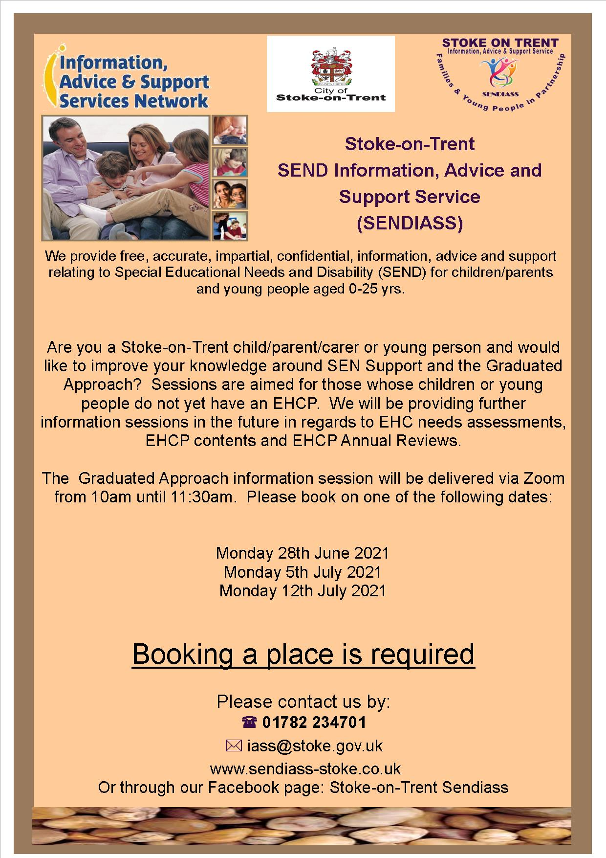 Special Educational Needs and Disabilities (SEND) Advice Sessions